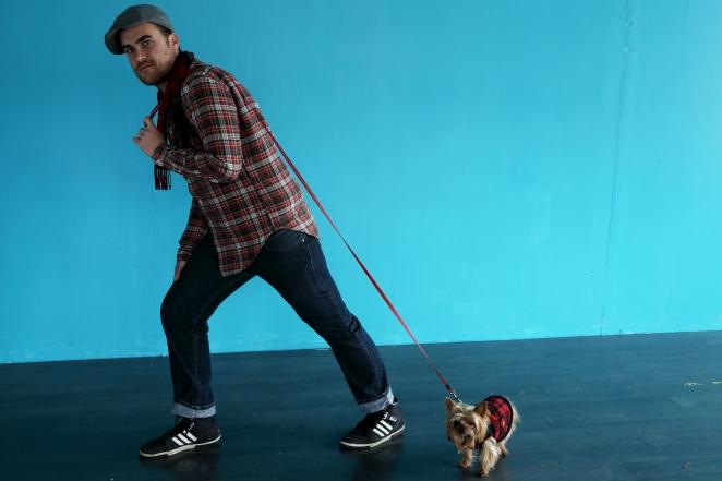 Photographe et chien